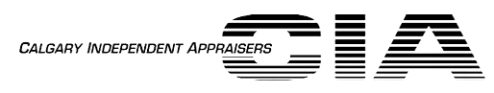 Calgary Independent Appraisers Black Logo